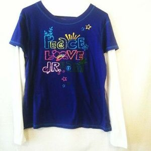 3 for $25 So Girls XL 13 15 Blue Shirt